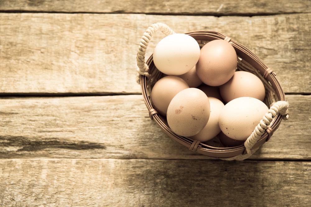 Uova bio per dieta plant-based