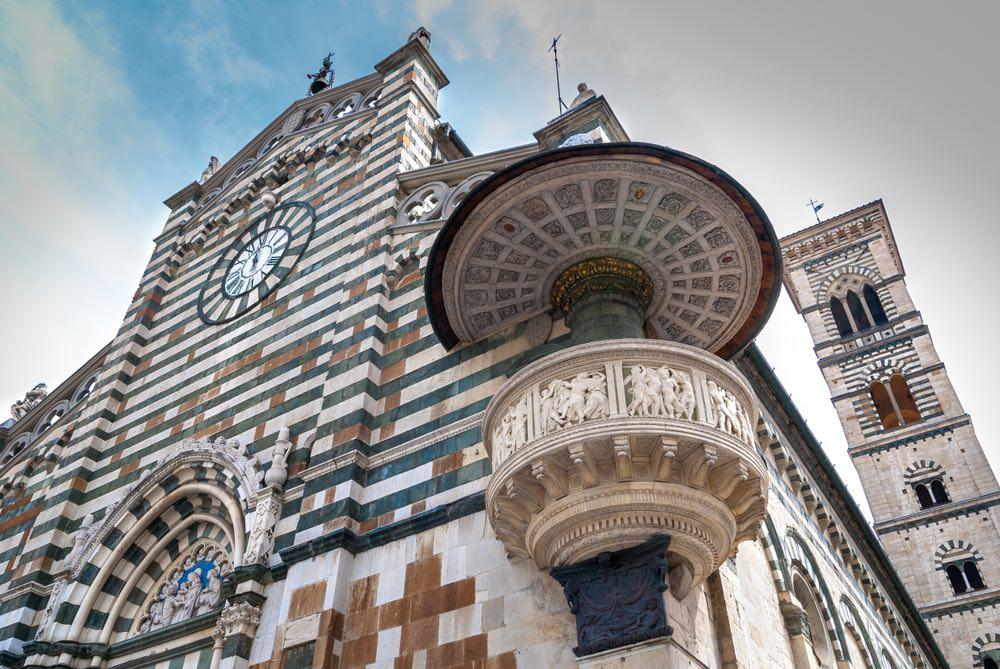 Duomo di Prato, città toscana regina del tessile