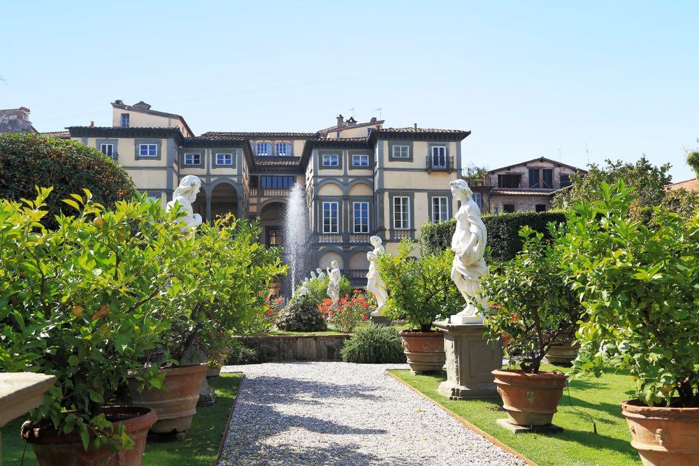 Palazzo Pfanner e il suo bellissimo giardino a Lucca