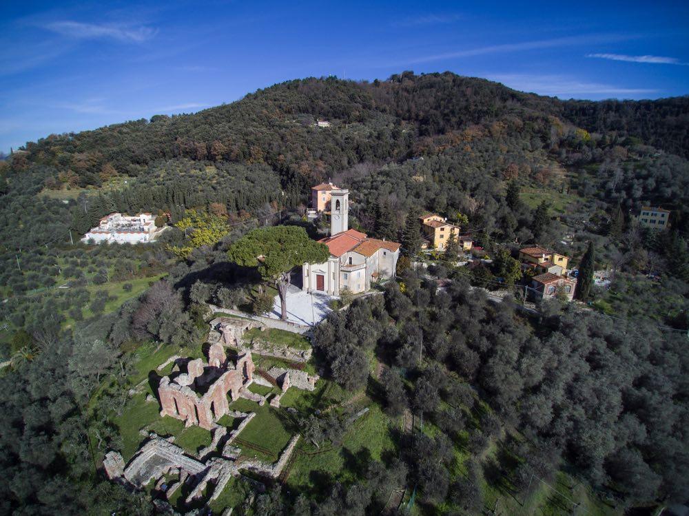 Le antiche terme romane di Massaciuccoli in provincia di Lucca
