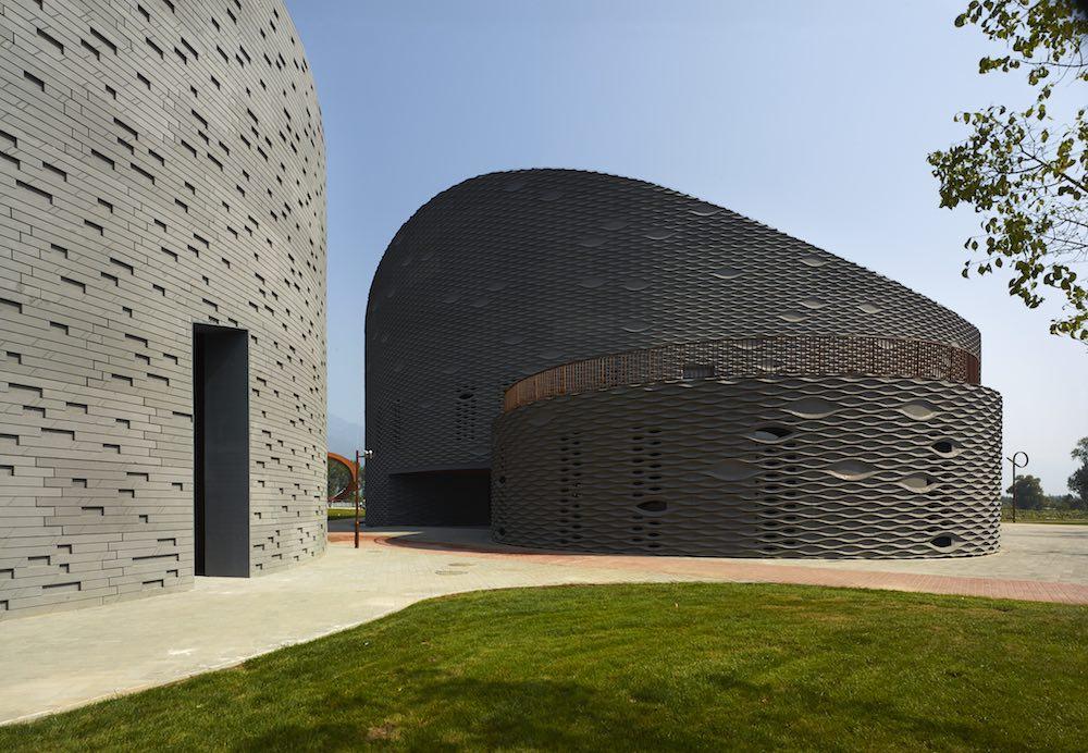 Progetto Yanqing Grape Expo in Cina dello Studio Archea