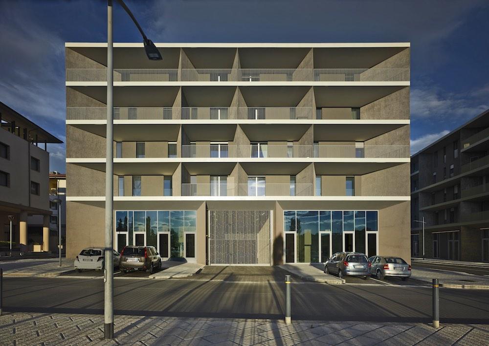Progetto residenziale a Novoli dello Studio Archea di Firenze