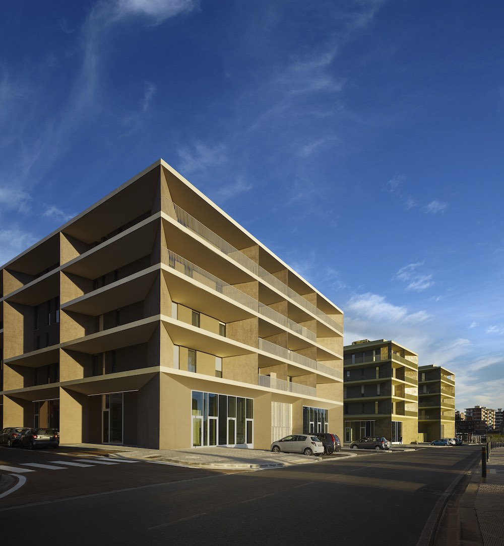Progetto residenziale a Novoli dello Studio Archea - Firenze