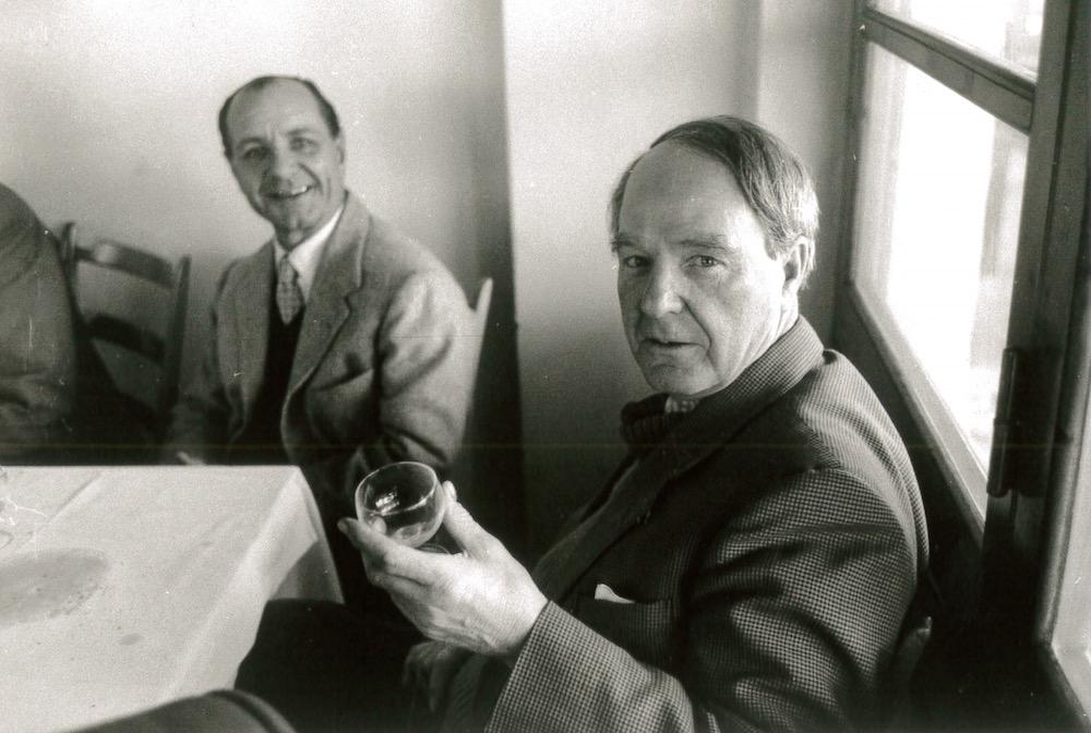 Lo sculture Henry Moore con Erminio Cidonio, Henraux SpA