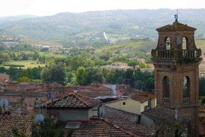 Panorama sul borgo toscano di Castelfiorentino