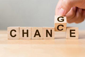 Concetto di cambiamento come opportunità