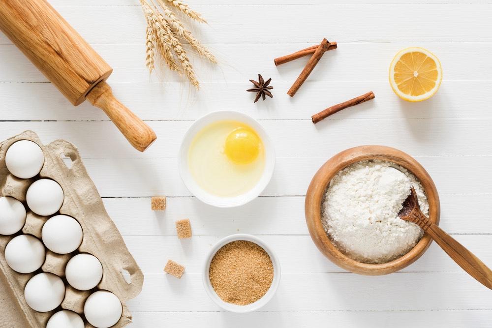 Ingredienti per la Schiacciata alla fiorentina