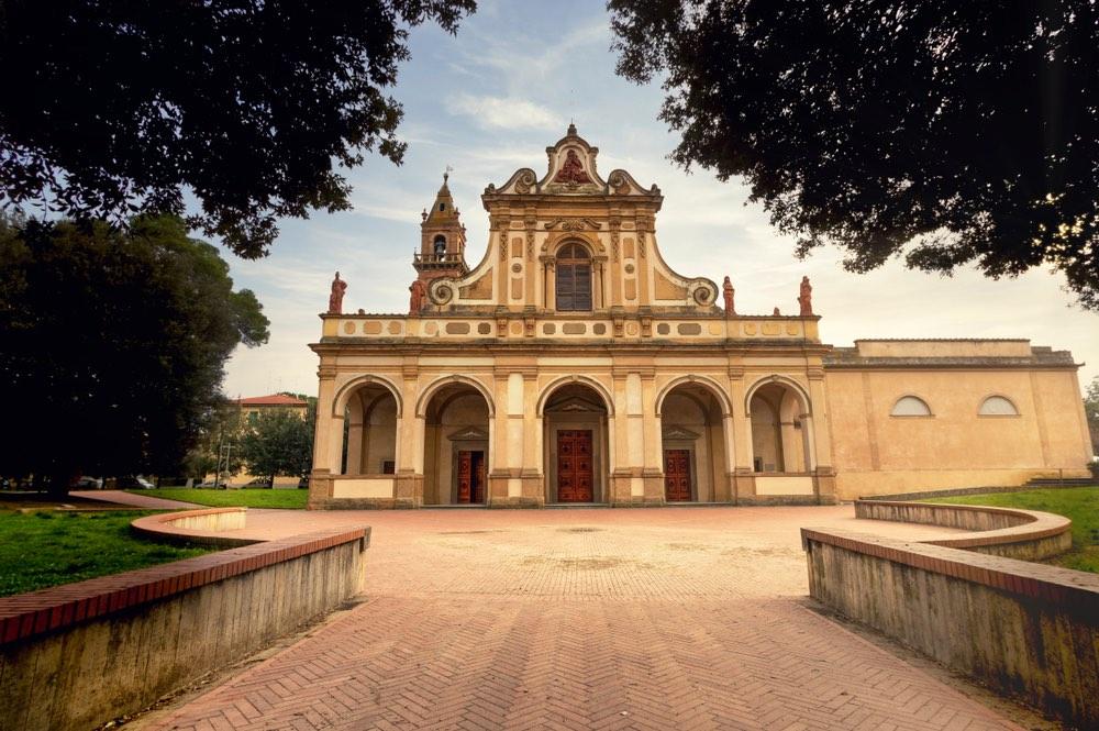 Basilca di Santa Verdiana a Castelfiorentino in Toscana