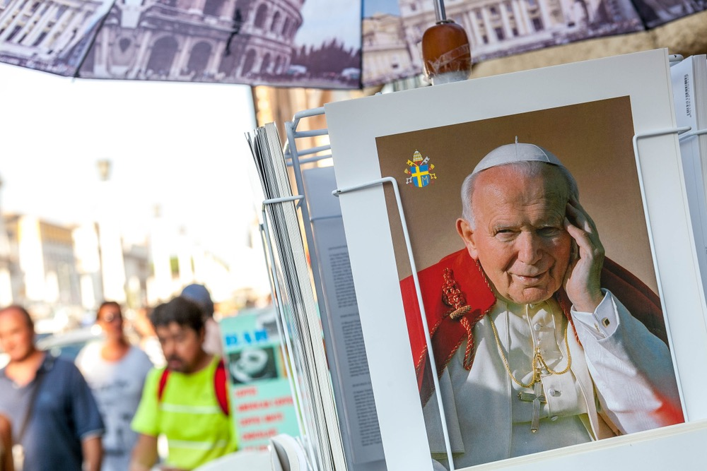 Cartolina di Papa Giovanni Paolo II