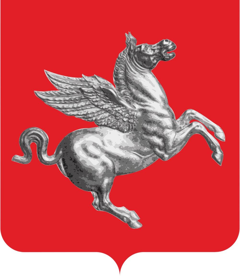 Stemma della Regione Toscana: Pegaso, il cavallo alato della mitologia greca