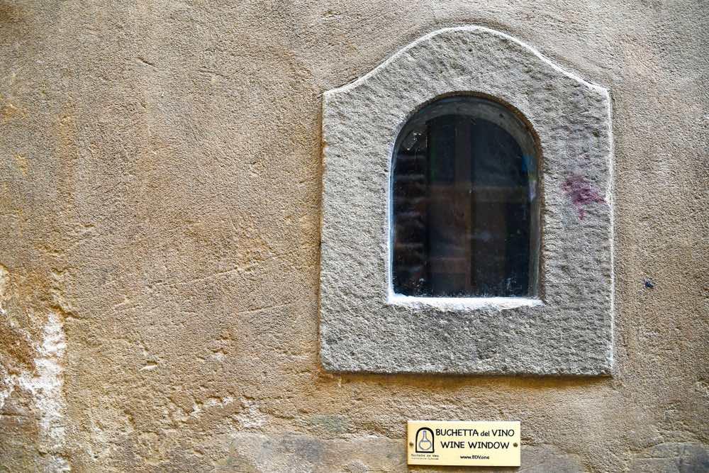 Buchetta del vino a Firenze