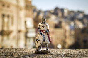Miniatura di un Cavaliere di Malta
