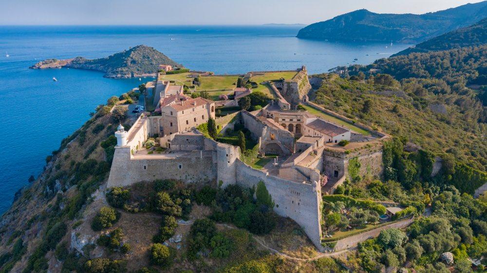 Forte Stella è uno dei forti di Porto Ercole, borgo toscano tra i più belli d'Italia