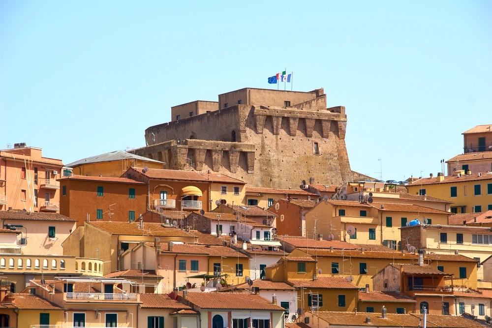 La Fortezza Spagnola di Porto Santo Stefano, borgo toscano dell'Argentario