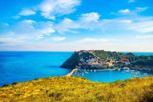 Porto Ercole, borgo toscano all'Argentario, inserito tra i Borghi più belli d'Itala