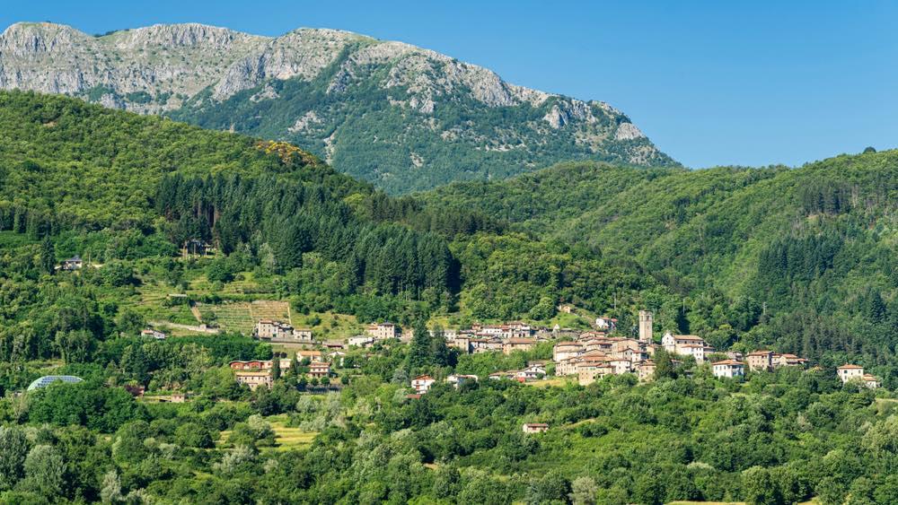 San Romano è un borgo della Garfagnana in Toscana