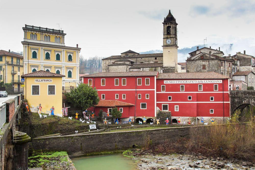 Il Museo Etnografico della Lunigiana si trova nel borgo toscano di Villafranca