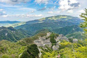 Panorama del Casentino, territorio del Parco Nazionale delle Foreste Casentinesi