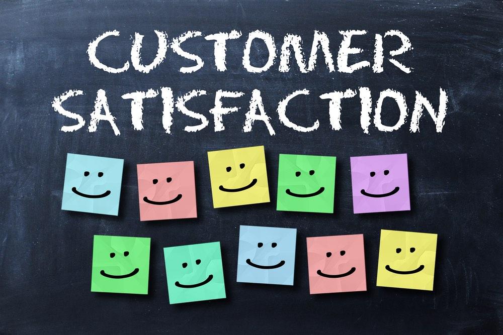 Grafica sulla soddisfazione del cliente