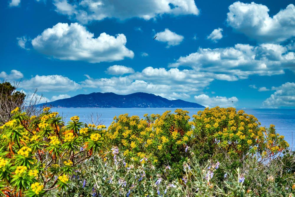 L'isola di Giannutri si trova nella parte meridionale dell'Arcipelago toscano