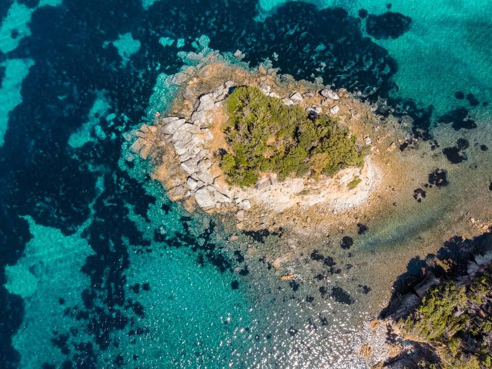 Isola Paolina all'isola d'Elba, nell'Arcipelago toscano