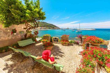 Marciana Marina all'Isola d'Elba è il comune più piccolo della Toscana