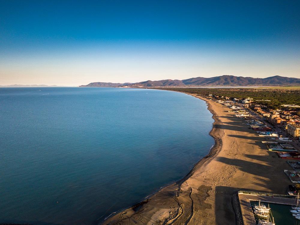 Marina di Grosseto è una località balneare della costa toscana nella Bassa Maremma