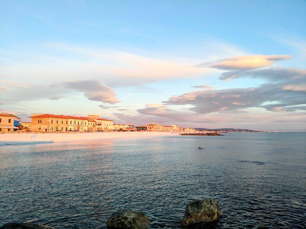 Marina di Pisa è una località balneare della costa toscana