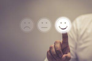 Concetto del marketing della generosità e della soddisfazione del cliente