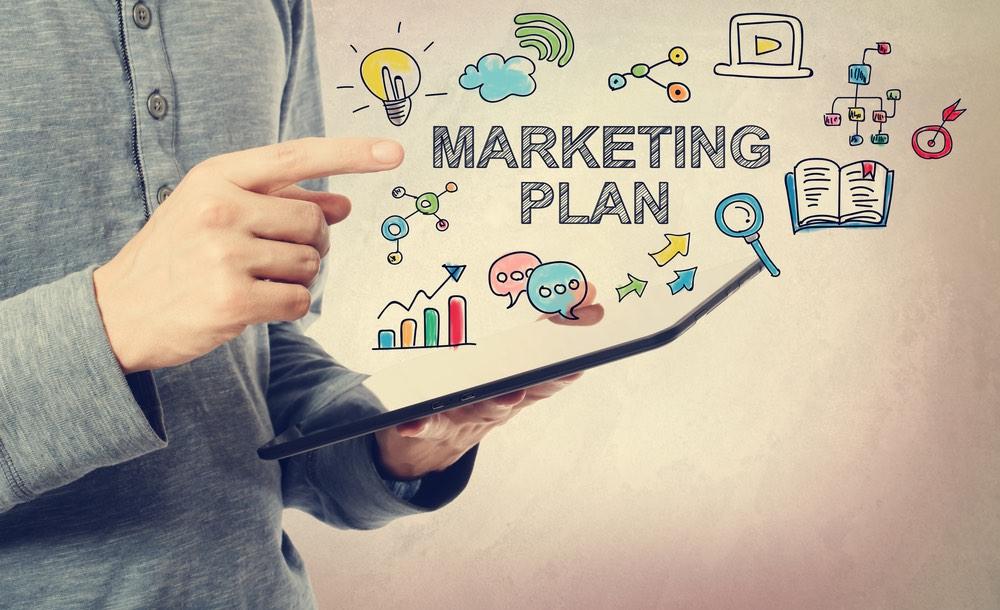 Rappresentazione grafica di un piano di marketing