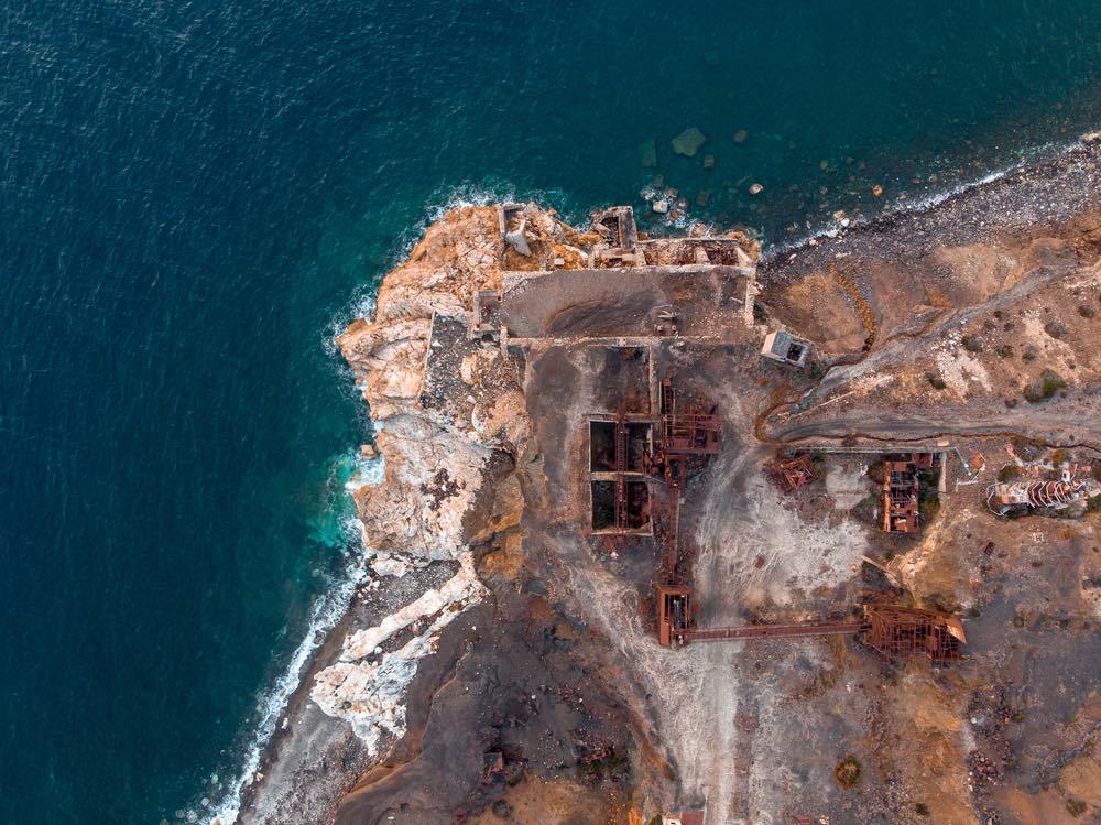 Le miniere di ferro sul Monte Calamita all'Isola d'Elba