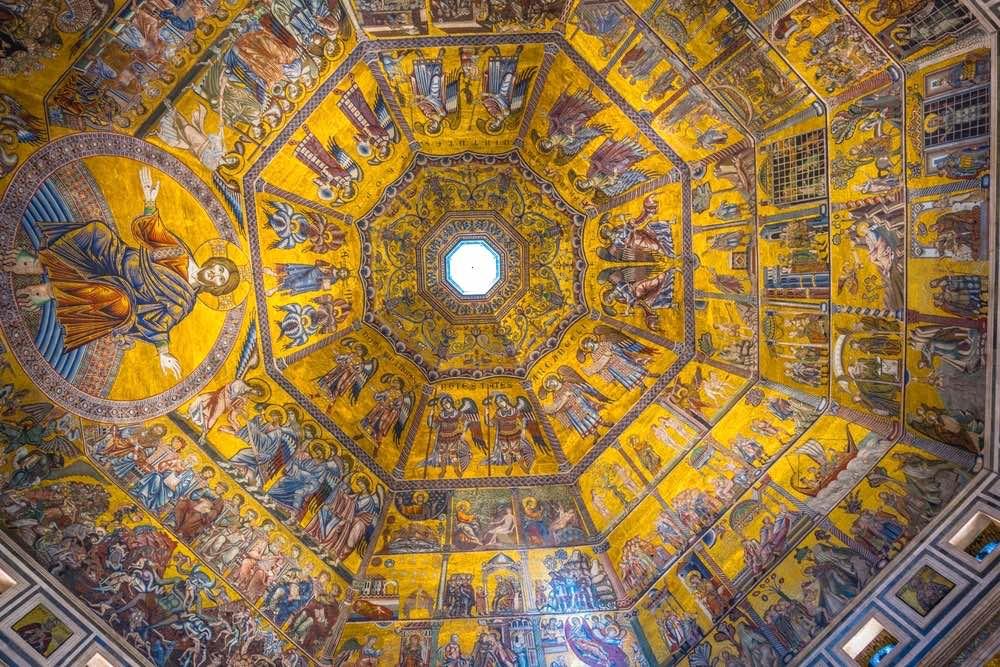 Il mosaico del Battistero di Firenze