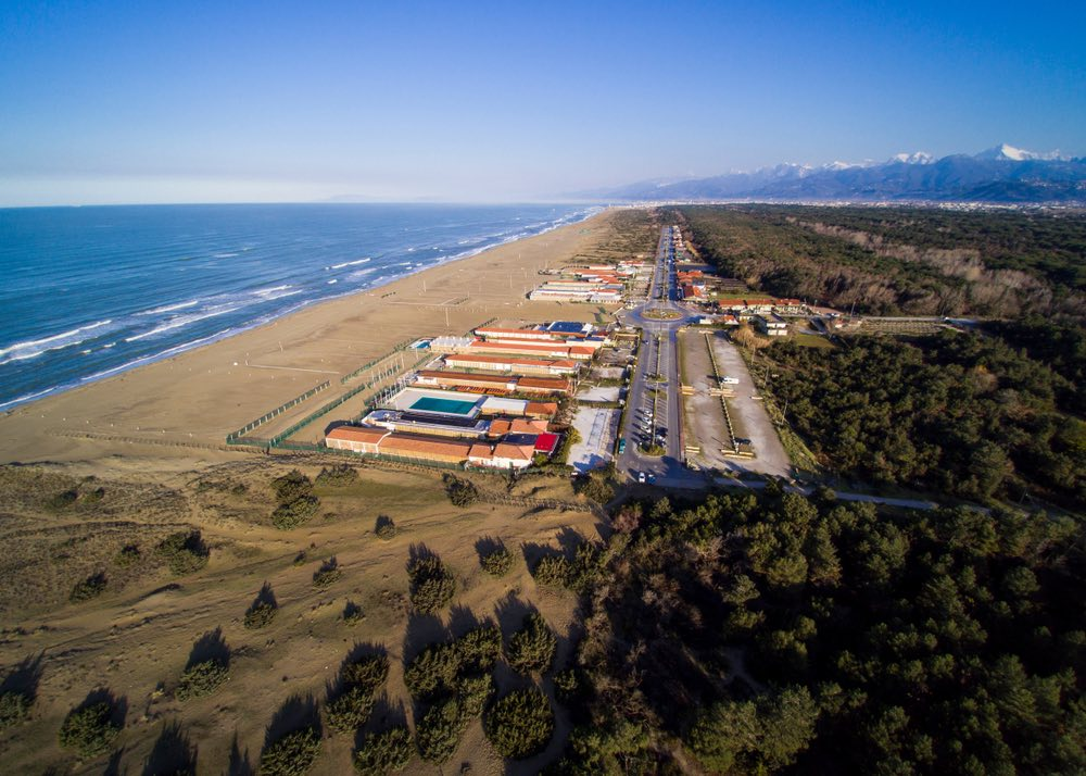 Tratto costiero del Parco di Migliarino, Massaciuccoli, San Rossore