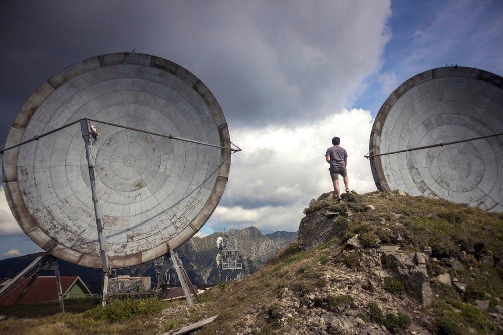 Radio stazione NATO abbandonata sul Monte Giogo