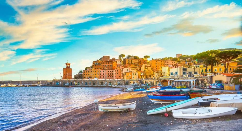 Rio Marina è uno de borghi marinari dell'Isola d'Elba
