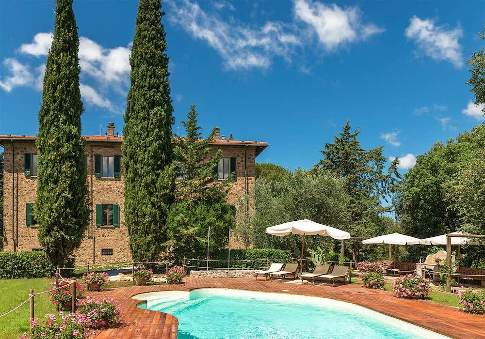Santa Trice è un'ottima struttura per una vacanza in agriturismo in Toscana