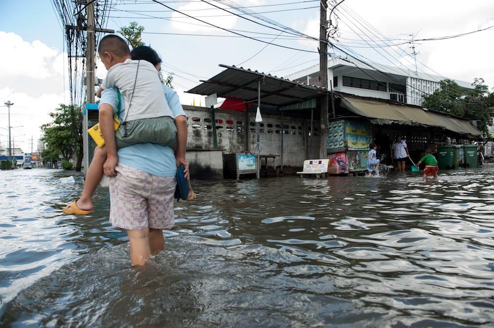 Allagamenti in Tailandia dopo i monsoni