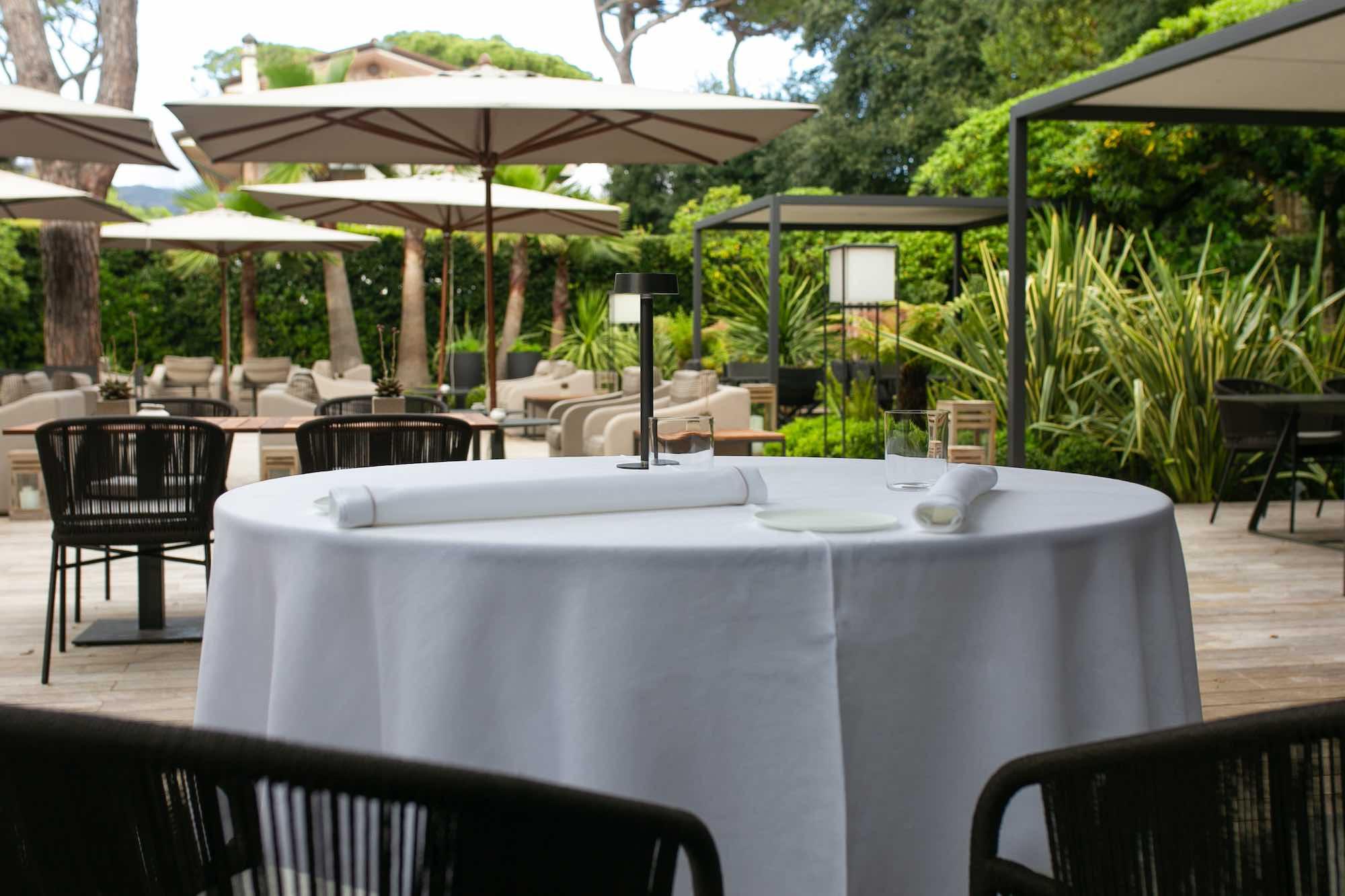 Esterno di Villa Grey , tra i ristoranti stellati 2020 della Toscana