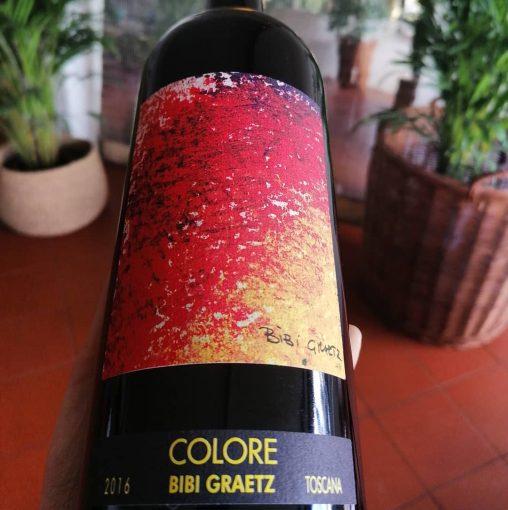 Colore, IGT Toscano Rosso