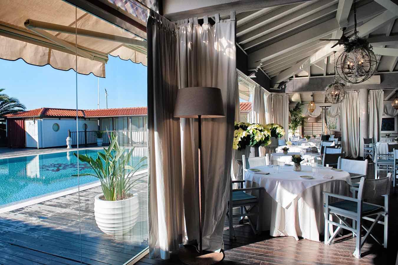 Il ristorante Franco Mare a Marina di Pietrasanta