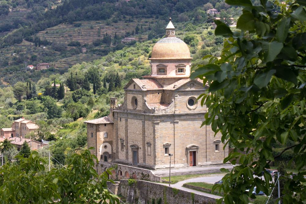 La chiesa di Santa Maria Nuova a Cortona, chiesa a croce greca