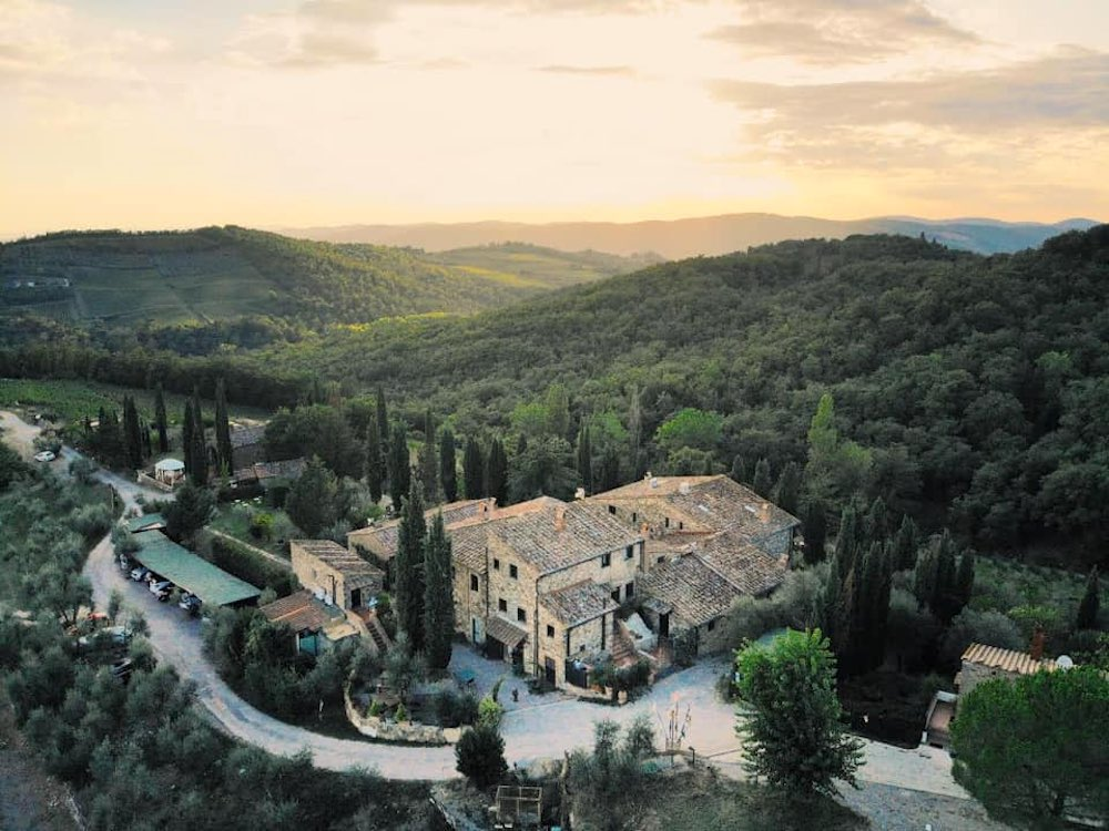 Borgo Casa al Vento è stato uno dei protagonisti di 4 Hotel in Chianti