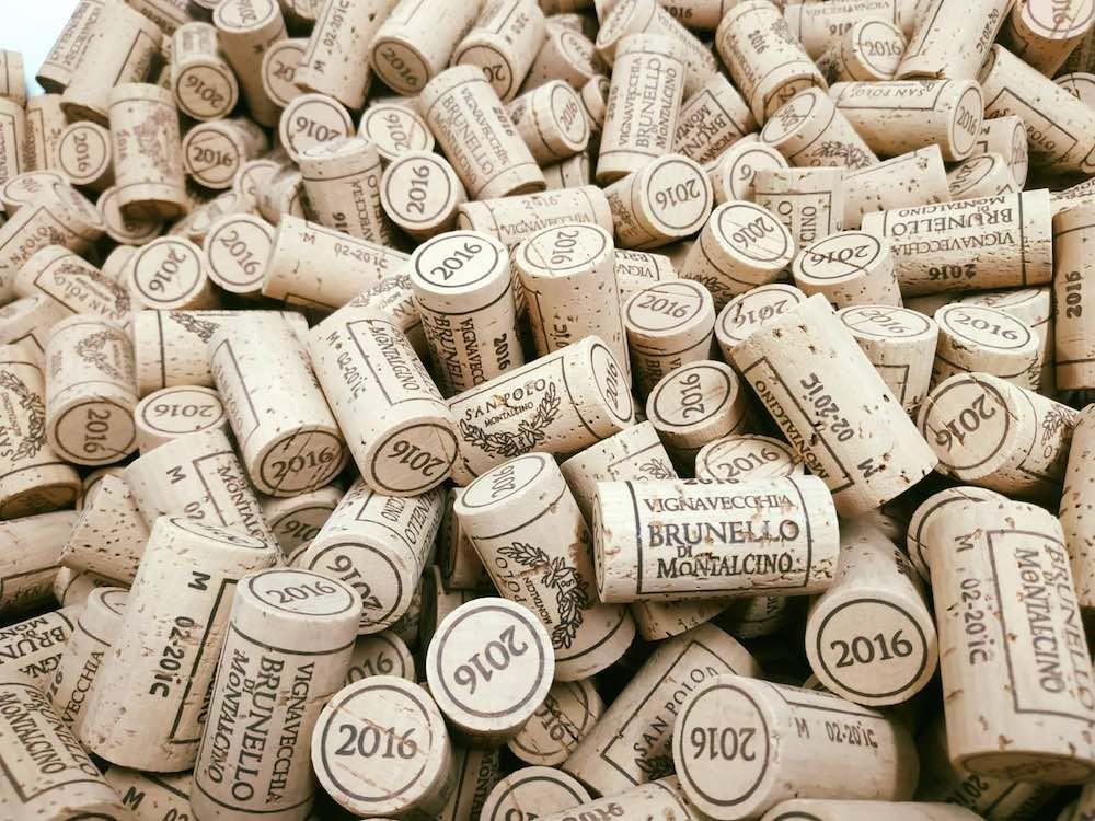Tappi di Brunello Vignavecchia 2015, 3 Bicchieri Gambero Rosso 2020