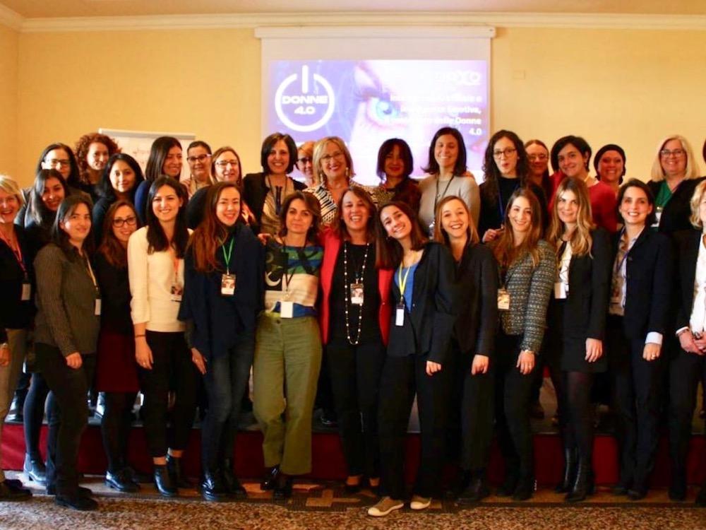 Partecipanti del congresso Donne 4.0 organizzato da Darya Majidi