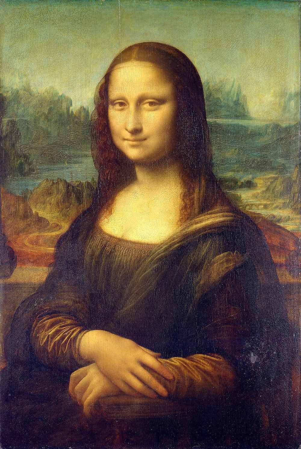 Il panorama dietro la Gioconda di Leonardo rappresenta il Valdarno Superiore in Toscana