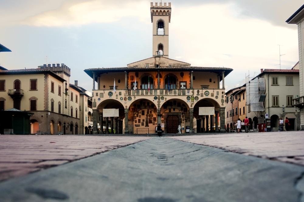 Palazzo Pretoriano o Palazzo d'Arnolfo è una costruzione di Arnolfo di Cambio a San Giovanni Valdarno in Toscana