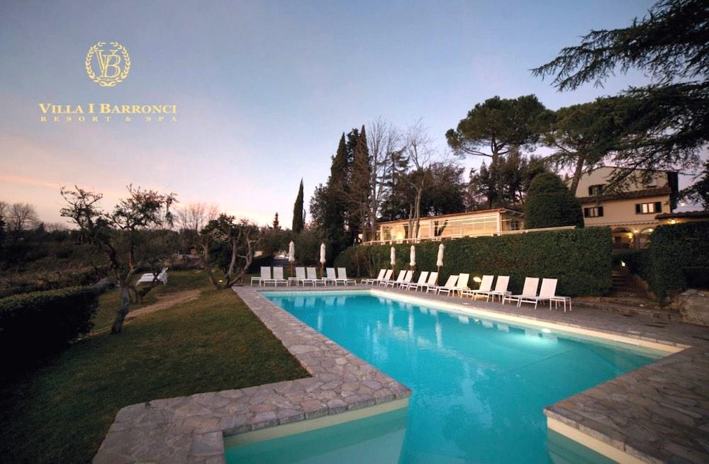 Villa I Barronci è stata uno dei protagonisti di 4 Hotel in Chianti