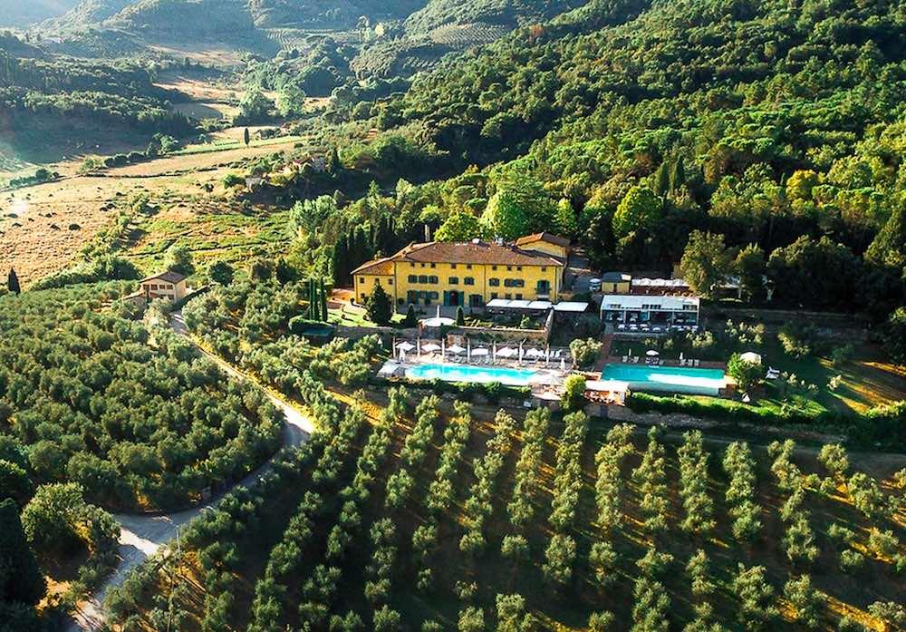 """Villa La Palagina a Figline Valdarno è la struttura vincitrice di """"4 Hotel"""""""