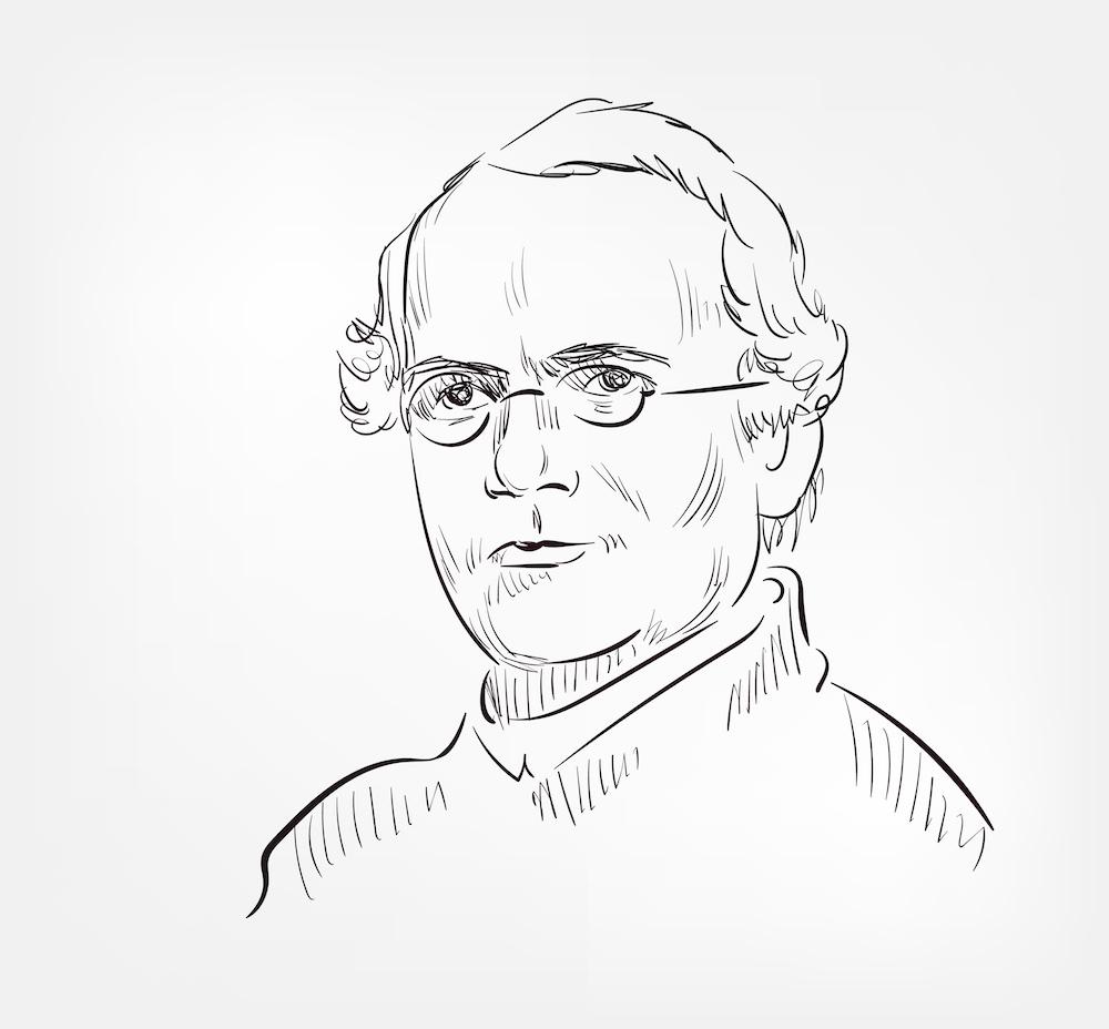 Ritratto di Eugenio Barsanti il vero inventore del motore a scoppio