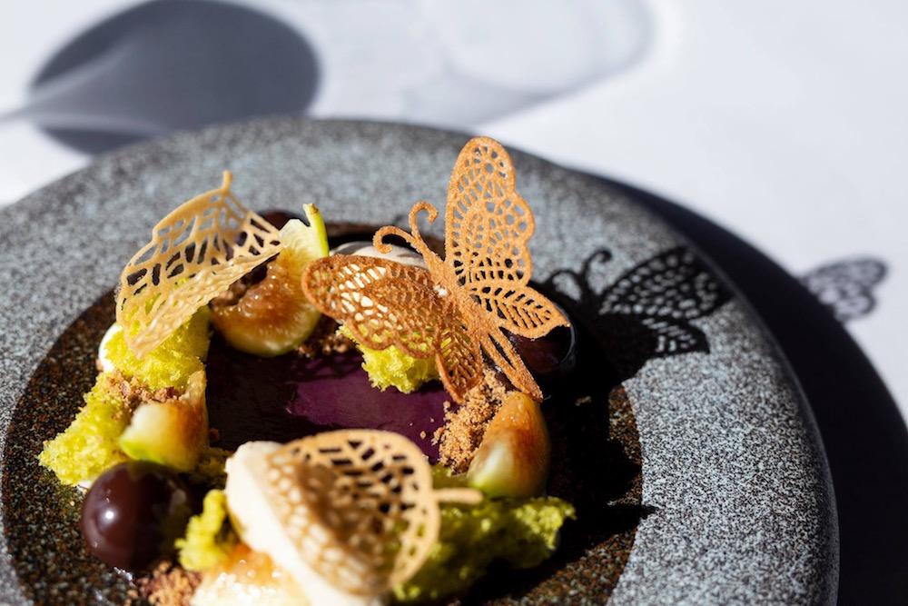 Piatto del ristorante Gabbiano 3.0 tra le nuove stelle Michelin 2021 della Toscana